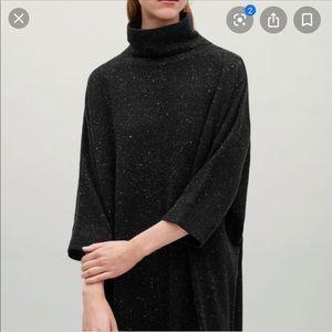 Amazing COS high neck merino wool dress